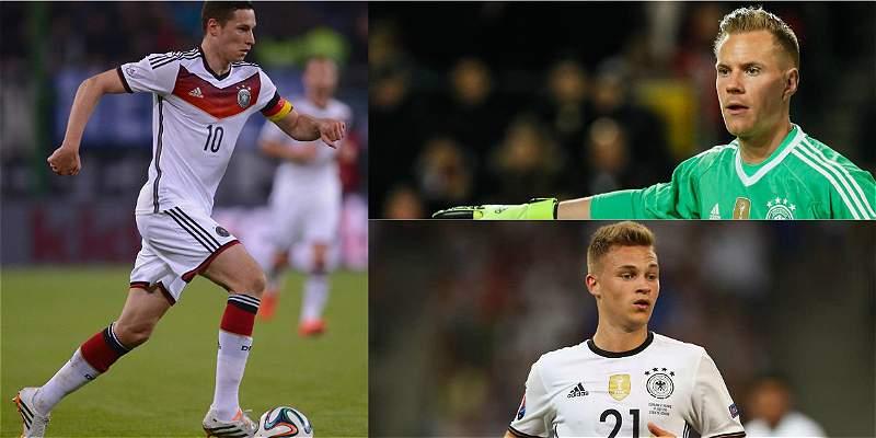 Alemania probará nuevos jugadores en la Copa Confederaciones