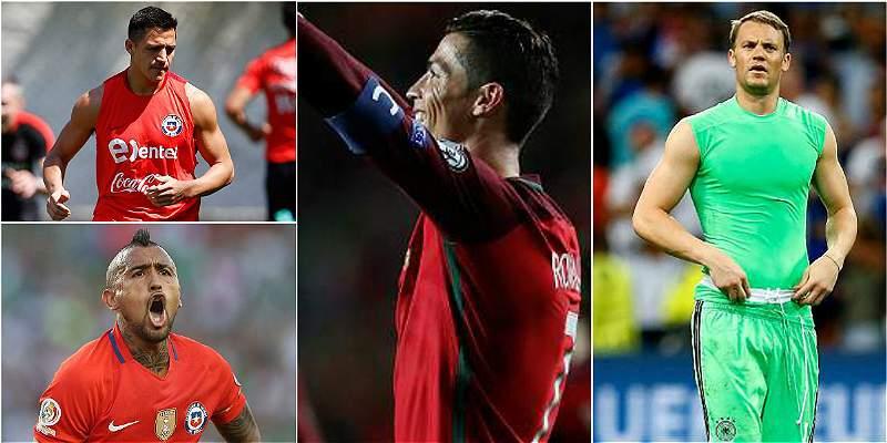 Copa Confederaciones: con bajo perfil por pocas figuras en selecciones