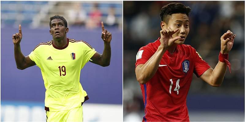 Venezuela arrasa y Argentina cae con Corea del Sur en Mundial Sub-20
