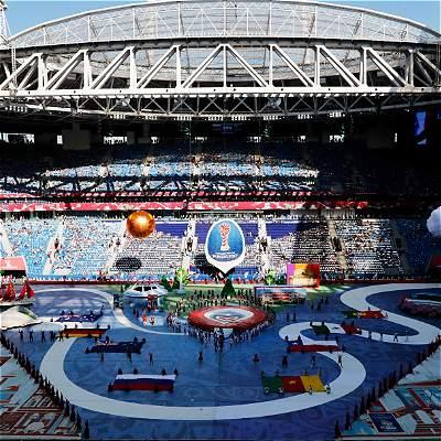 Las mejores imágenes de la inauguración de la Copa Confederaciones-2017