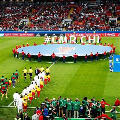 En fotos: la victoria de Chile contra Camerún en Copa Confederaciones