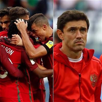 Portugal vs. Rusia