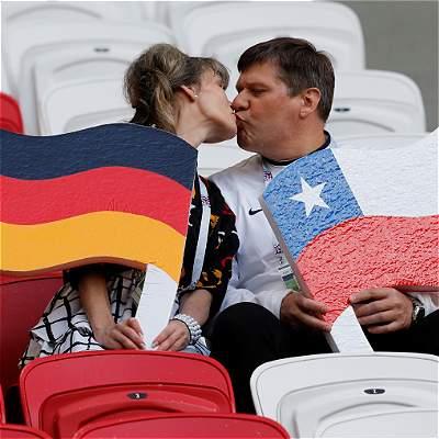 Así jugarán Alemania y Chile el 'partidazo' de Copa Confederaciones