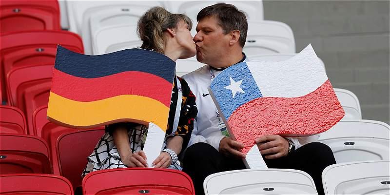 Así jugarán Alemania y Chile el \'partidazo\' de Copa Confederaciones