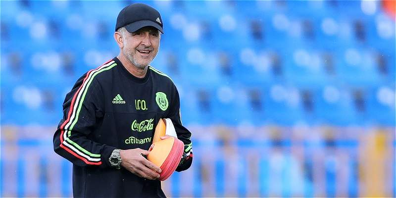 Resultado de imagen de Osorio dice que Rusia pondrá a prueba la jerarquía de México