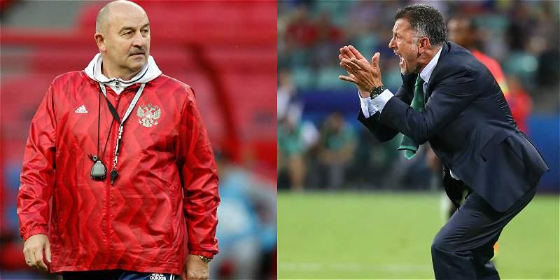 México y Rusia prometen un duelo sin cuartel por el pase a semifinal