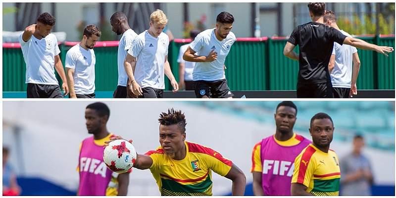 Alemania, a no confiarse frente a Camerún en la Copa Confederaciones
