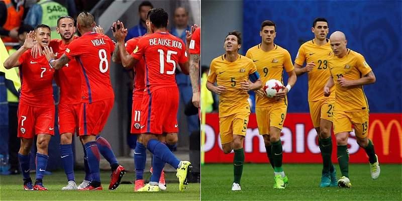 Resultado de imagen para chile vs australia
