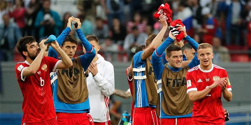 'Felicito al equipo, hizo lo máximo que pudo': Cherchésov, DT de Rusia