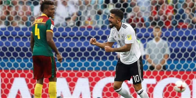 Alemania superó con autoridad 3-1 a Camerún y es primero del grupo B