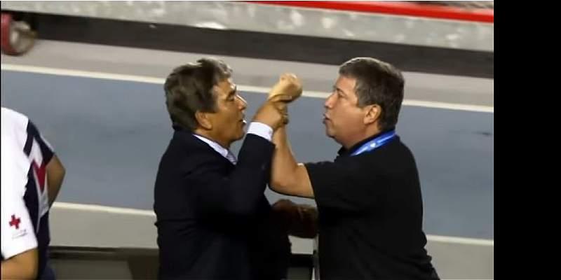 Hernán Darío Gómez y Jorge Luis Pinto