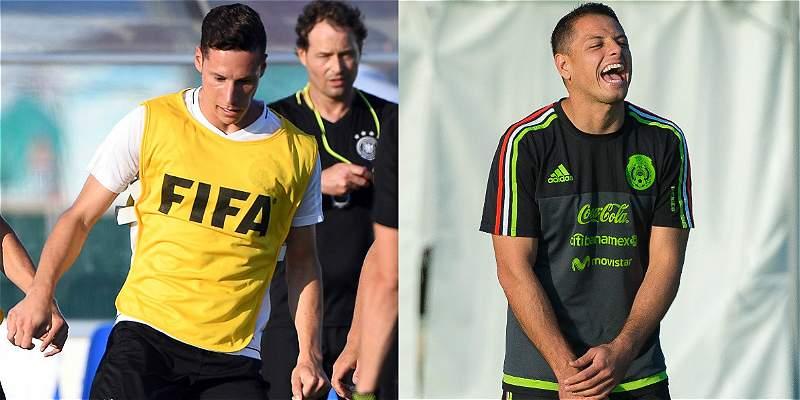 México vs. Alemania