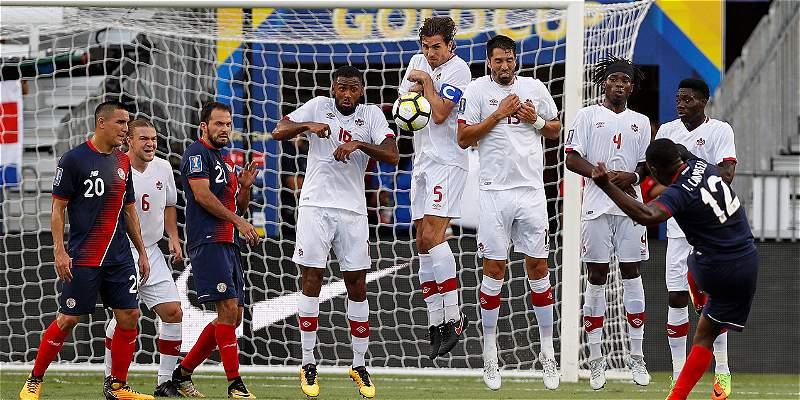 Costa Rica y Canadá se acercan a cuartos: empataron 1-1 en Copa Oro