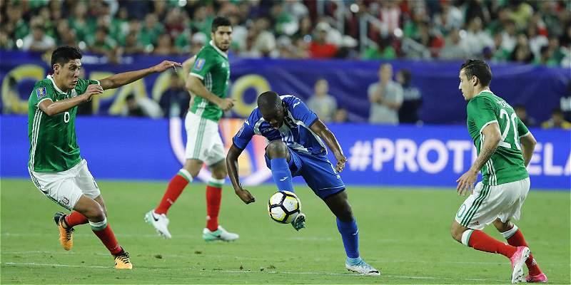 Pompilio avanzó y Pinto fue eliminado de Copa Oro: México 1-0 Honduras