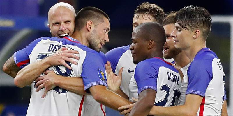 Estados Unidos, finalista de la Copa Oro al vencer 0-2 a Costa Rica