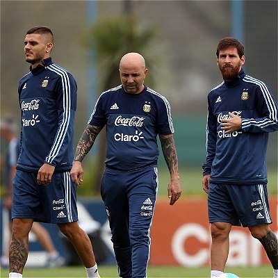 Sampaoli definió a los 'extranjeros' de Argentina:llamó a 'Papu' Gómez