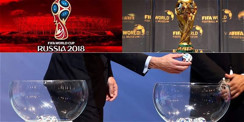 Bombo 1 del Mundial Rusia 2018