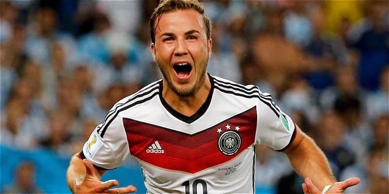 Alemania volvió a llamar a Götze para juegos con Inglaterra y Francia