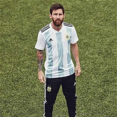 Argentina, Bélgica, España y Alemania, las camisetas para Rusia-2018