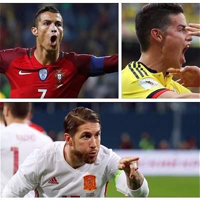 En fotos: las estrellas de las 32 selecciones clasificadas al Mundial