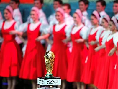 Ceremonia sorteo Mundial/GALERÍA