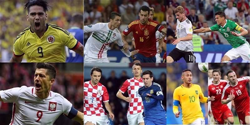 Los 5 partidos más atractivos de los grupos del Mundial de Rusia 2018