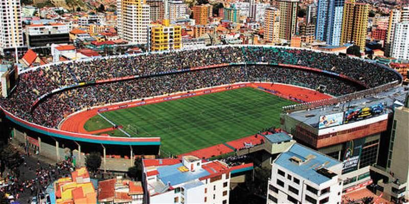 Bolivia lanza proyecto para remodelar el estadio Hernando Siles
