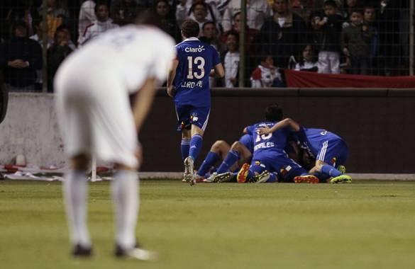 'U' de Chile venció 0-1 a Liga de Quito y quedó cerca de ser campeón