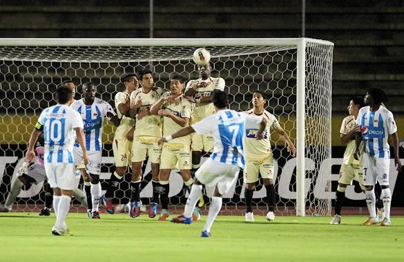 Deportivo Quito venció 1-0 a León de Huanuco en la Suramericana