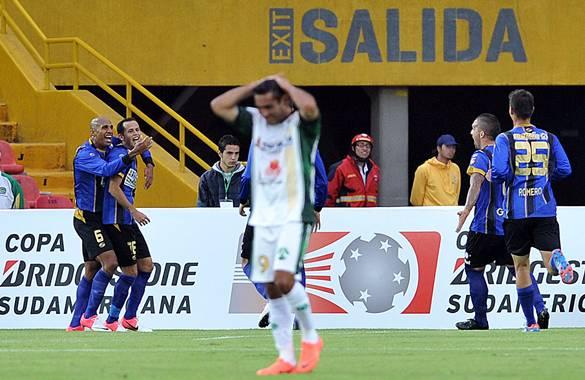 La Equidad sigue sin brújula, cayó 0-1 con Mineros en la Suramericana