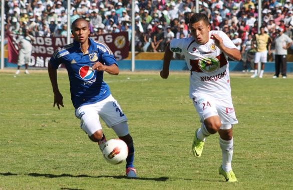 Millonarios debutó en la Suramericana con empate 0-0 frente a Inti Gas