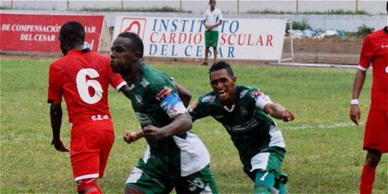 Valledupar F.C. y Fortaleza F.C. no se hicieron daño  y empataron 1-1