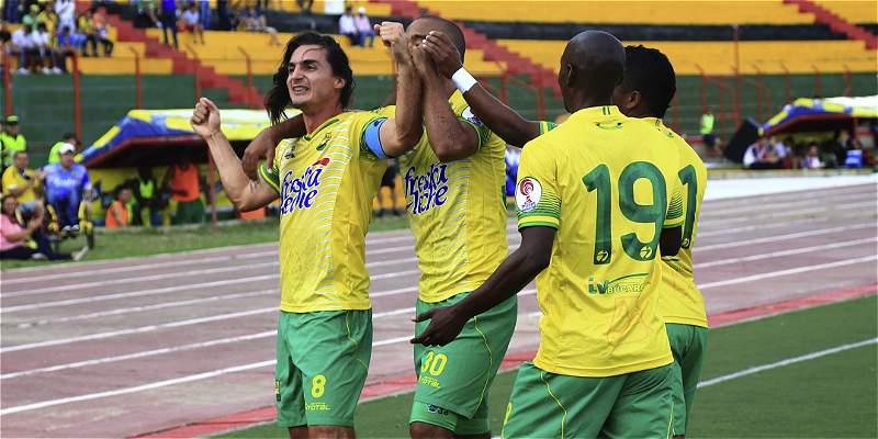 Bucaramanga sigue imparable en la B: venció 0-1 a Valledupar