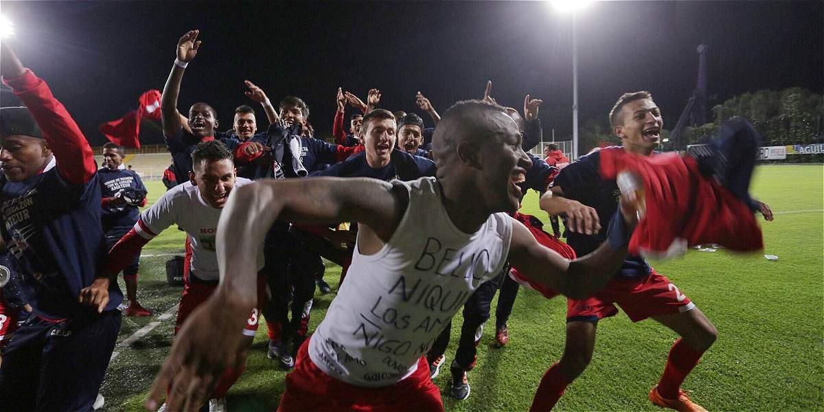 Fortaleza ascendió a la Liga Águila
