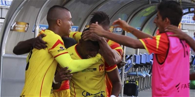 Pereira sigue embalado en la Primera B: superó 0-1 a Unión Magdalena