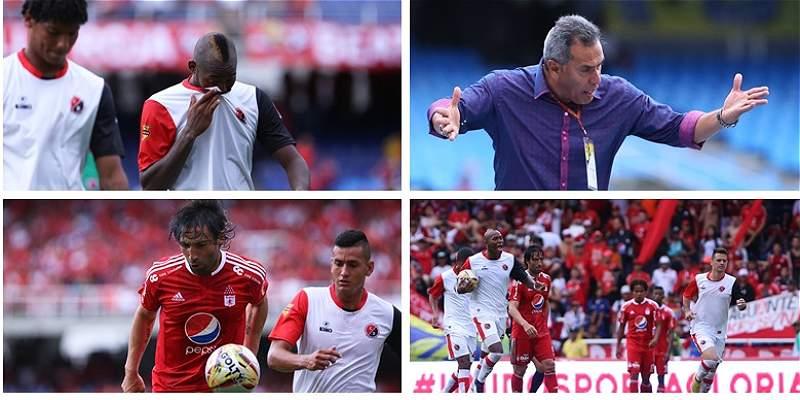 Las mejores fotos del partido entre América y Cúcuta, en la B