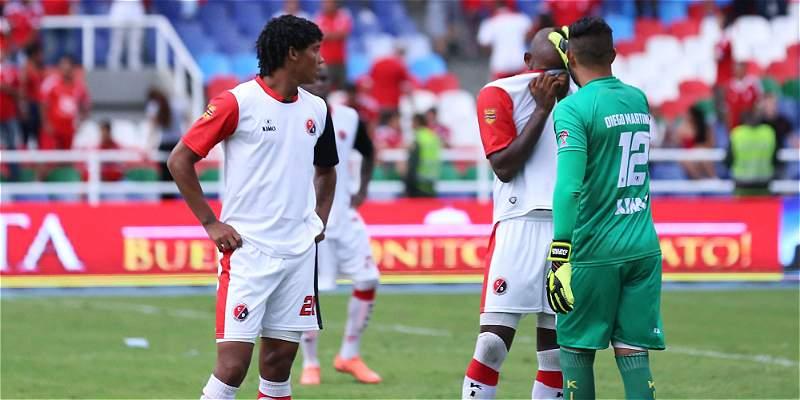 Cúcuta no logró su cometido: igualó 1-1 en su visita al América