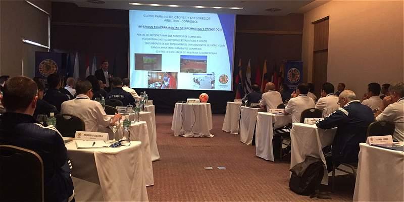 Jueces de Congreso de Conmebol dicen que gol de Leones debió validarse