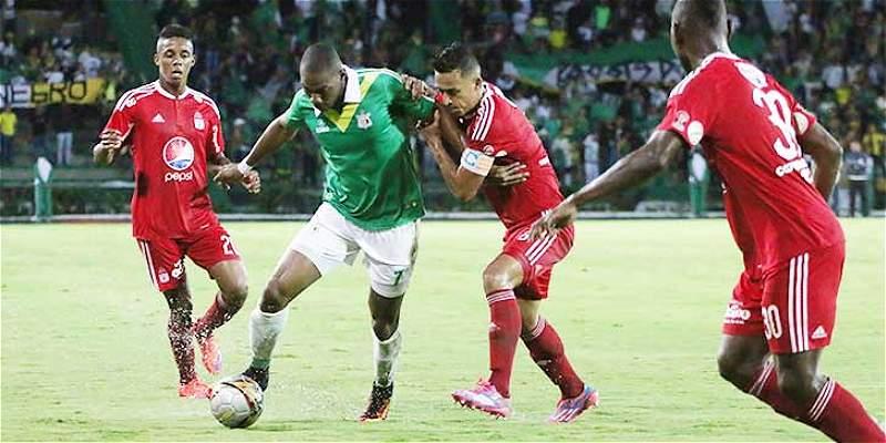 América resbaló en el inicio del cuadrangular: perdió 1-0 con Quindío