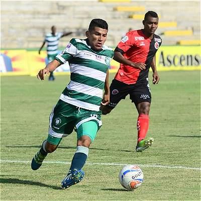 Valledupar dio la sorpresa en la B y venció 2-1 a Cúcuta