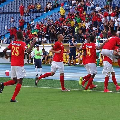 Barranquilla da la sorpresa en la B: empató 1-1 con Chicó y es tercero