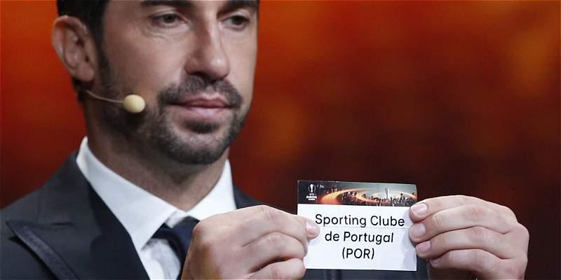 Liga de Europa: Sporting de \'Teo\', en el grupo del Besiktas de Franco
