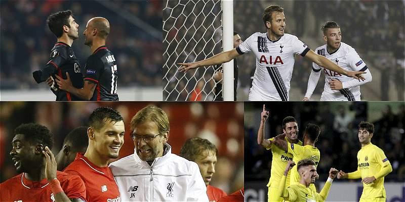 Liverpool y Villarreal pasaron a dieciseisavos de la Europa League