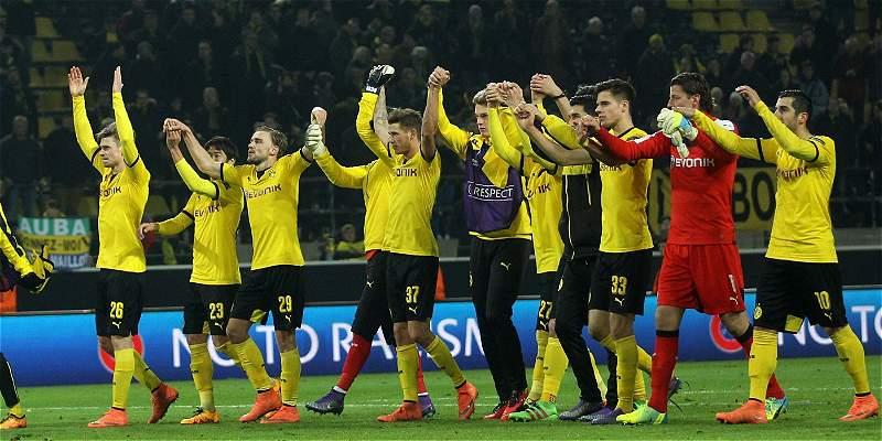 Borussia Dortmund venció 3-0 a Tottenham, en juego de la Europa League