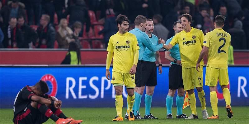 Villarreal pasó a cuartos de Europa League tras 0-0 con Leverkusen