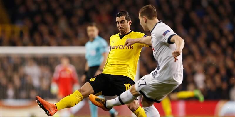 Dortmund, que tuvo a Ramos suplente, avanzó a cuartos de Europa League