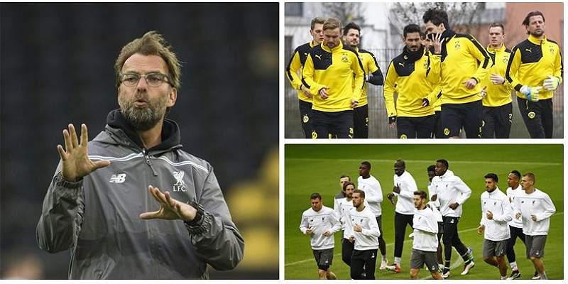 Borussia Dortmund vs. Liverpool, duelo \'candente\' por la Europa League