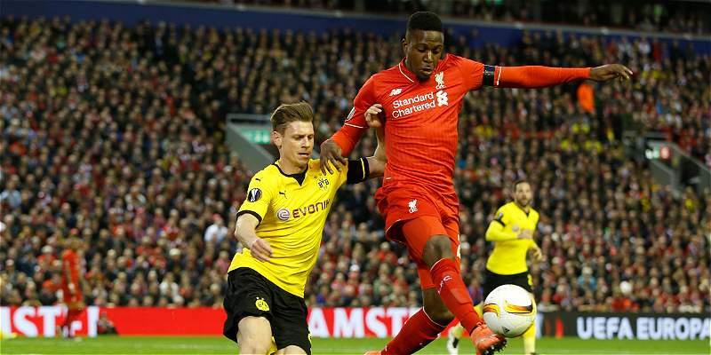 Épico juego de Liverpool: 4-3 sobre Dortmund y  a semis de Liga Europa