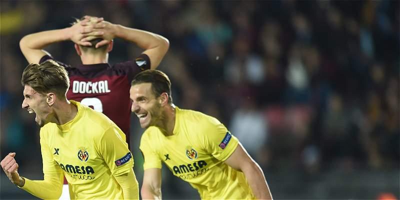 Villarreal fue contundente: 2-4 a Sparta y avanzó en Europa League