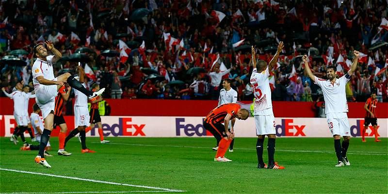 Sevilla clasificó a su tercera final seguida de la Europa League